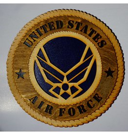 Air Force Wooden Plaque
