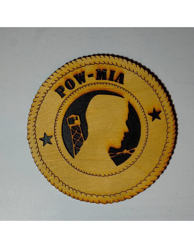 Wilkes POW/MIA (2 Stars) SM Plaque