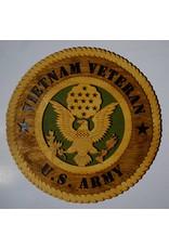 Army Vietnam Veteran Plaque