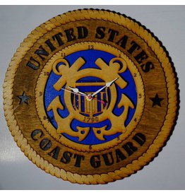 Wilkes Coast Guard Clock