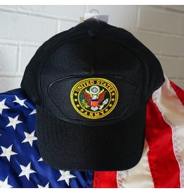 Army Emblematic Baseball Cap (BLK)