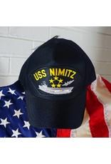 USS NIMITZ Baseball Cap