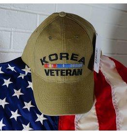 Korea Veteran Baseball Cap (KHAKI)