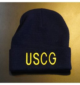 Navy Blue USCG Watch Cap