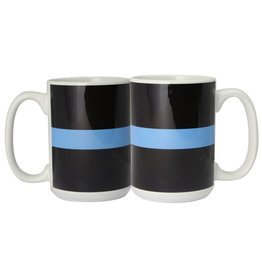 Thin Blue Line 11 oz Ceramic Mug