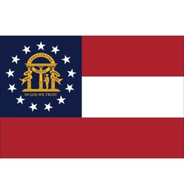 Georgia Nylon Flag