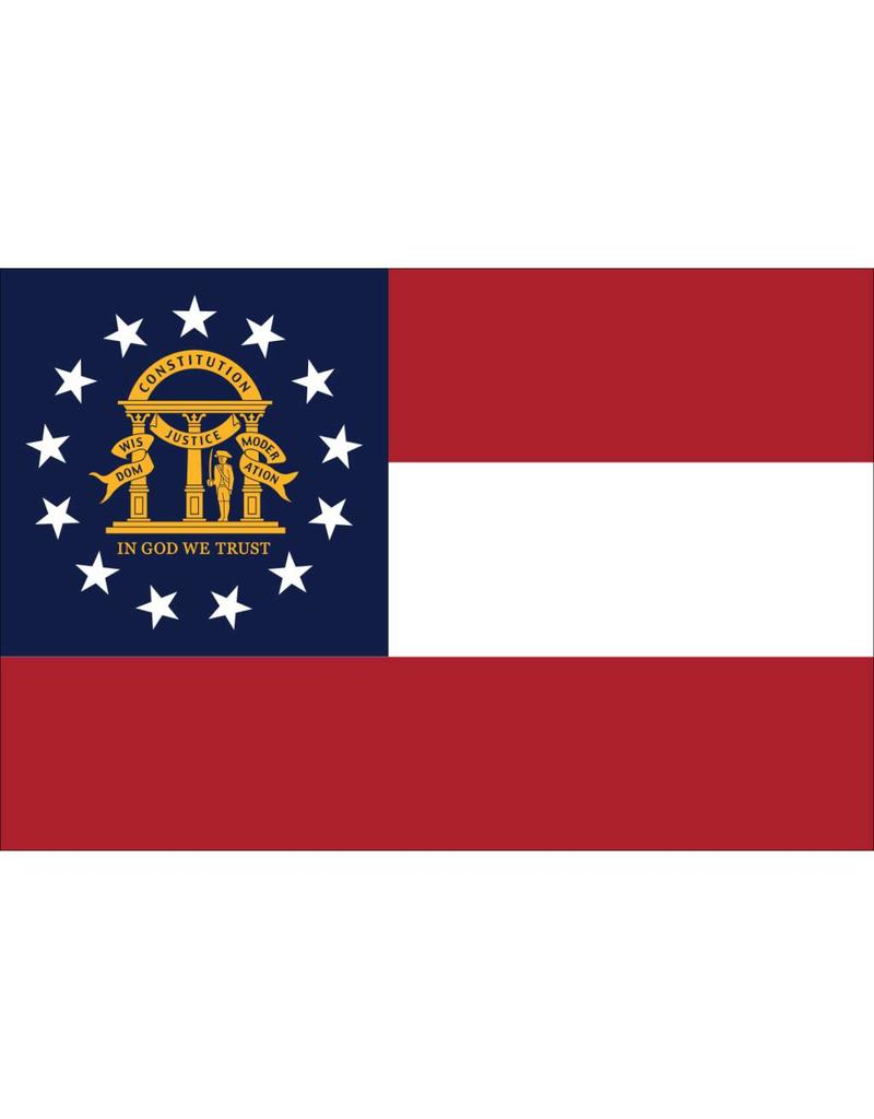 Georgia Nylon Flag