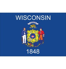 Wisconsin Nylon Flag