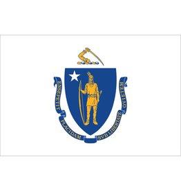 Massachusetts Nylon Flag