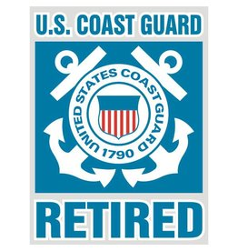 Coast Guard Retired Decal