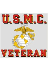 U.S.M.C. Veteran Decal