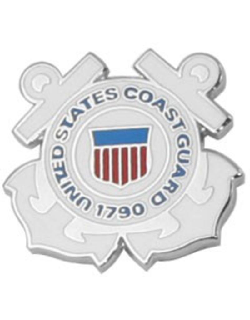 United States Coast Guard Emblem  Lapel Pin