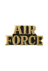 Gold Air Force Lapel Pin