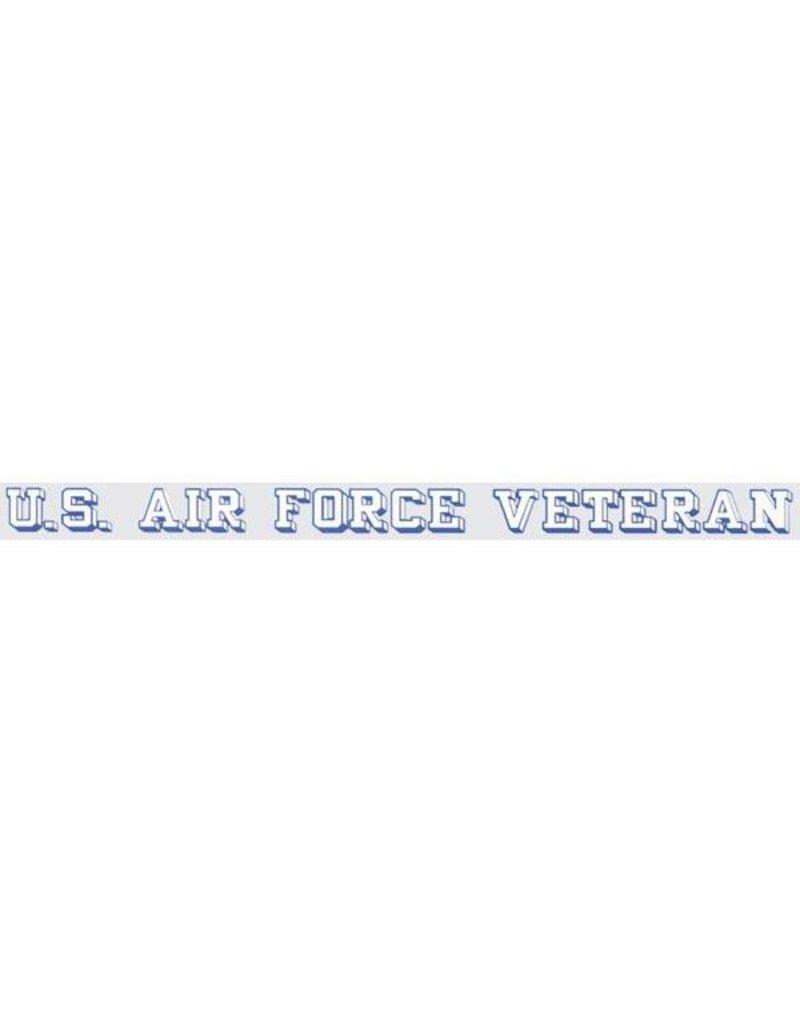 Air Force Veteran Window Decal