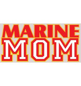 Marine Mom Decal