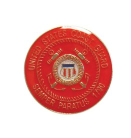 United States Coast Guard Academy Crest  Lapel Pin