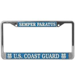 Semper Paratus Auto License Plate Frame