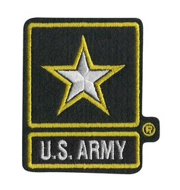 Army Star 2X3 Patch