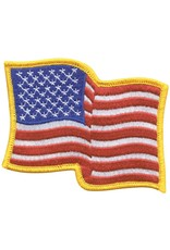 USA Waving Patch