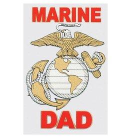 Marine Corps Dad Decal