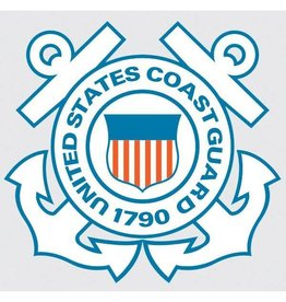 U.S. Coast Guard Crest Decal