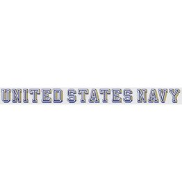 Navy  Window Strip Decal