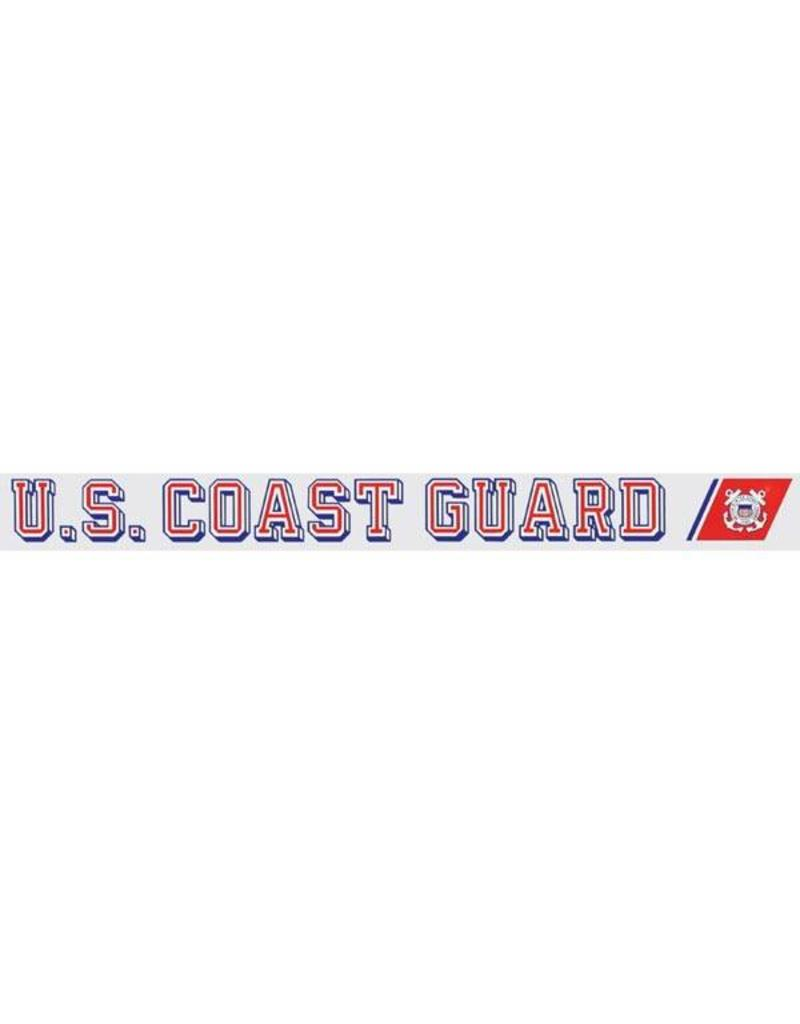 U.S. Coast Guard Window Strip Decal