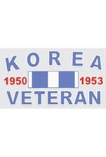 Korea Veteran Decal