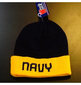 Navy Blue with Yellow U.S. Navy Watch Cap
