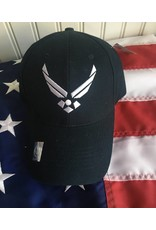 Air Force Logo Baseball Cap (Navy)
