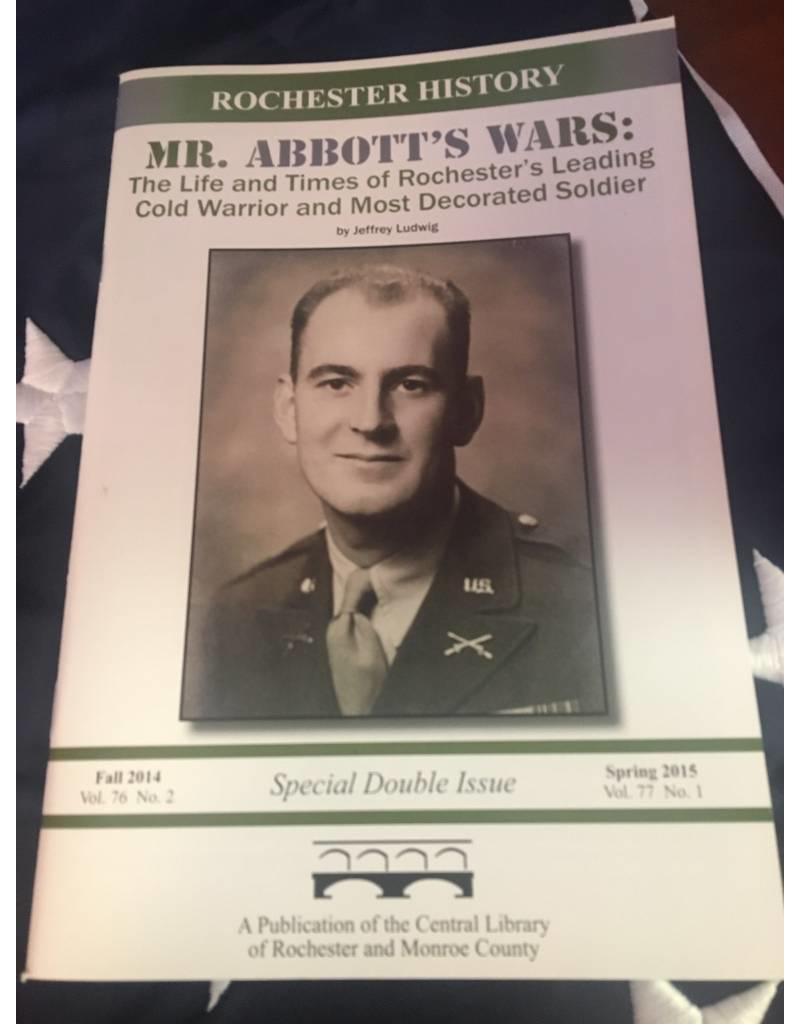 Mr. Abbott's Wars by Jeffrey Ludwig