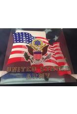 Army w/Flag SM Decal