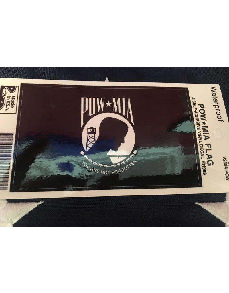 POW/MIA Flag Vinyl Decal