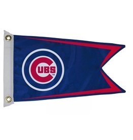 "Chicago Cub 12x18"" Pennant Flag"
