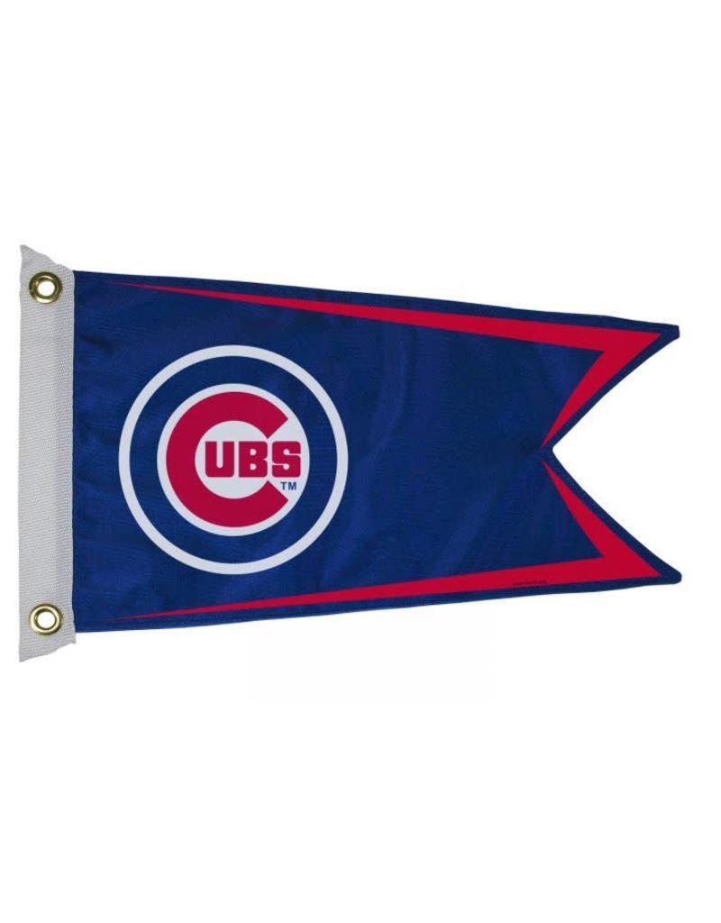 """Chicago Cub 12x18"""" Pennant Flag"""
