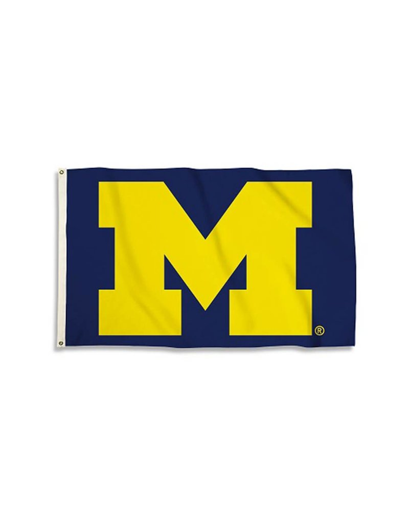 Michigan Wolverine 3x5' Flag