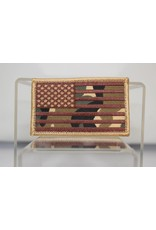 U.S. Flag Hook and Loop Patch
