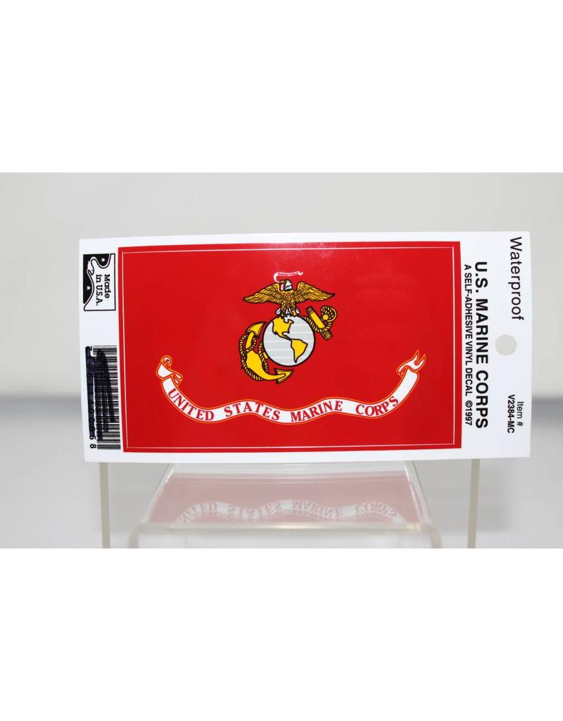 Marine Corps Flag Decal
