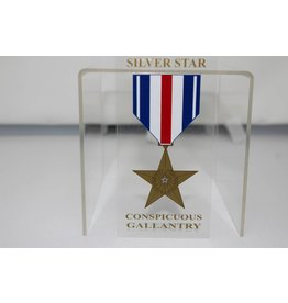 Silver Star Decal