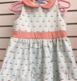 PEANUTS GALLERY PG SAILBOAT DRESS