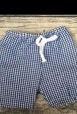 PEANUTS GALLERY Seersucker Swim Shorts