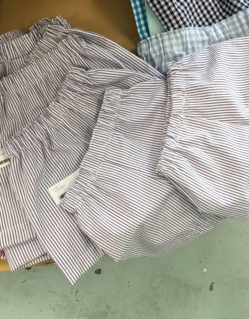 PEANUTS GALLERY PG seersucker shorts