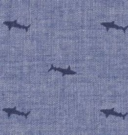 Fabric Finders FF 2101 CHAMBRAY SHARKS