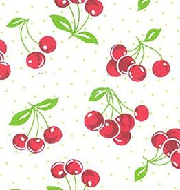 Fabric Finders FF 2054 Cherries printed fabric