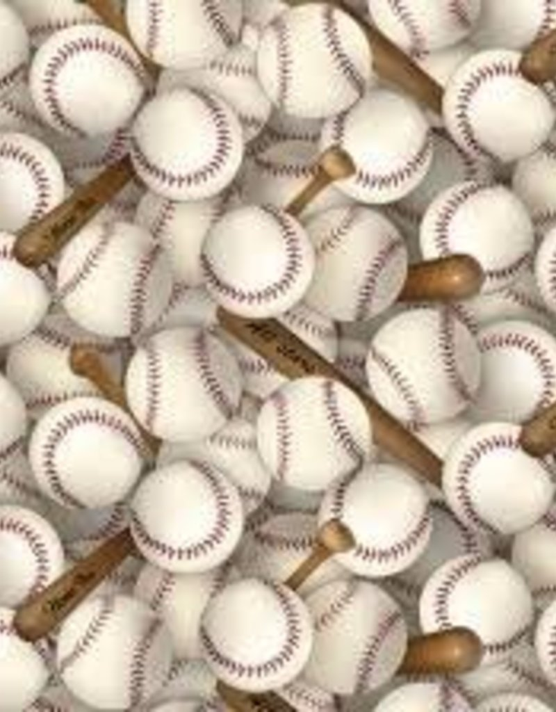 BASEBALL FABRIC WHITE