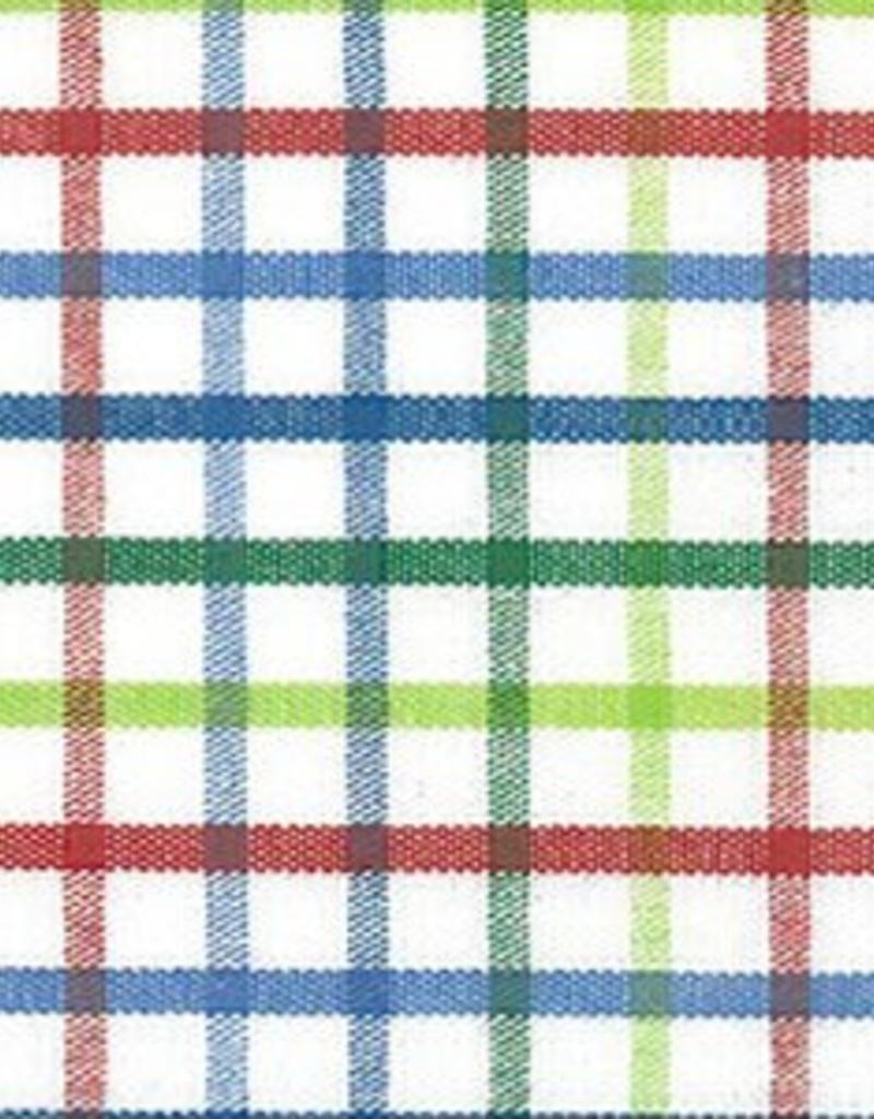 Fabric Finders t-044 BLUE/GREEN/RED TRICHECK
