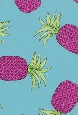 Fabric Finders FF 2100 AQUA / PINK PINEAPPLE