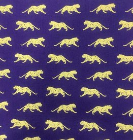 Fabric Finders FF PURPLE GOLD TIGER