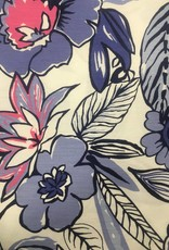 Fabric Finders FF LG FLORAL PERIWINKLE