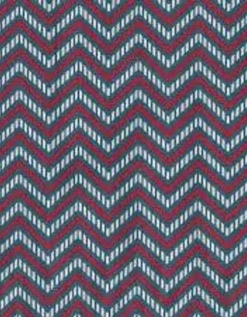 Fabric Finders ff red white blue chevron